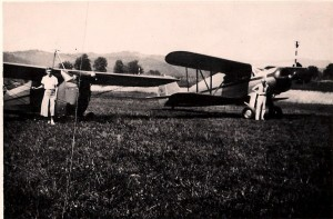 Mom and granddad J2 cub